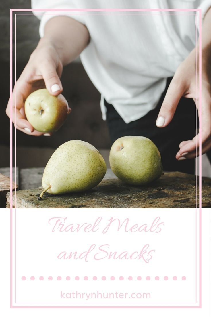 Travel Snacks and Meals