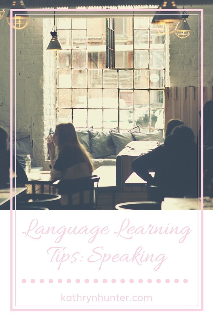 Language Learning Speaking