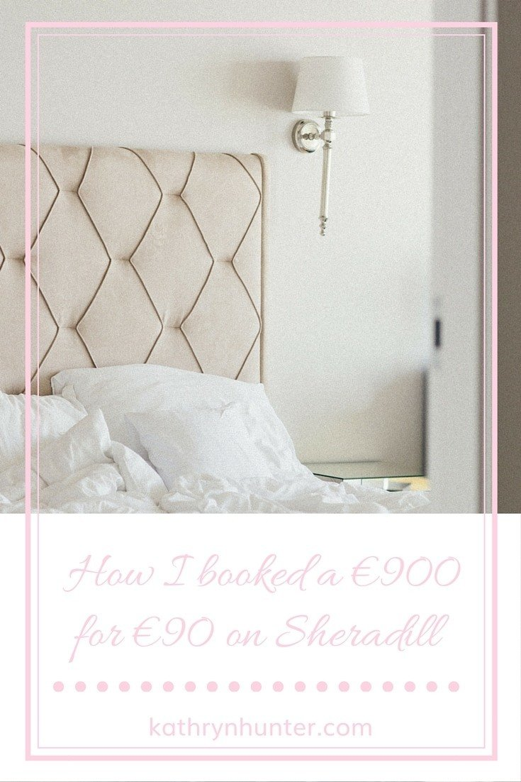 How I booked a €900 hotel for €90 on Sheradill
